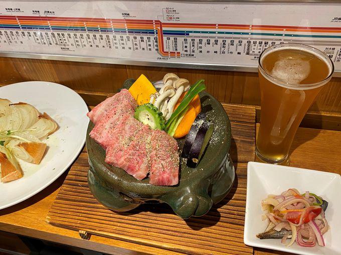 「大阪産(もん)料理 空」でも「KIX BEER」が飲める