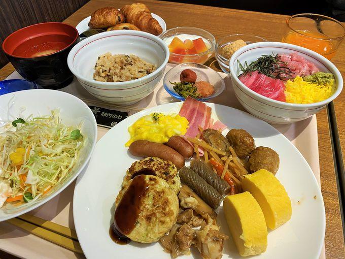 広島名物「あなご飯」もある!自慢の朝食ビュッフェ