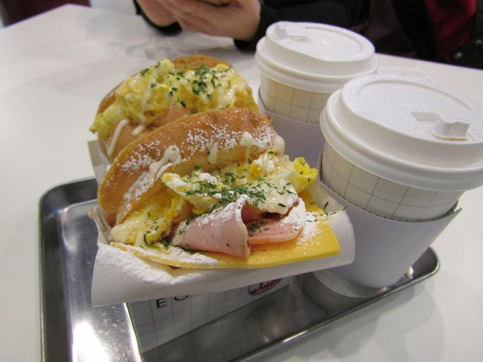 「ホットサンドイッチ」が人気急上昇!!
