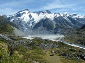マウントクック国立公園(NZ)で氷河を堪能しよう!