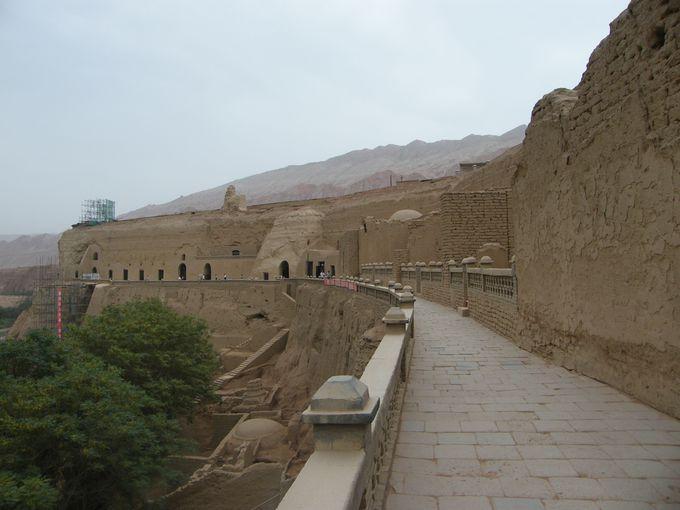 古代ウイグル人の石窟「ベゼクリク千仏洞」