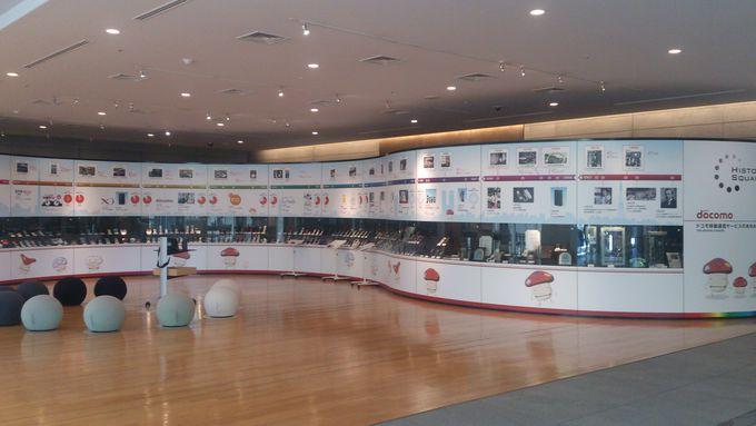 両国付近なら「NTTドコモ歴史展示スクエア」へ