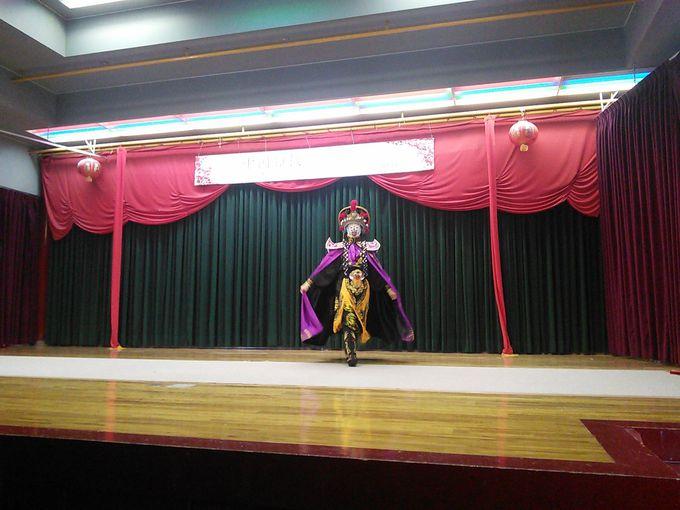 「燕趙園」のミニ中国雑技は毎日開催!