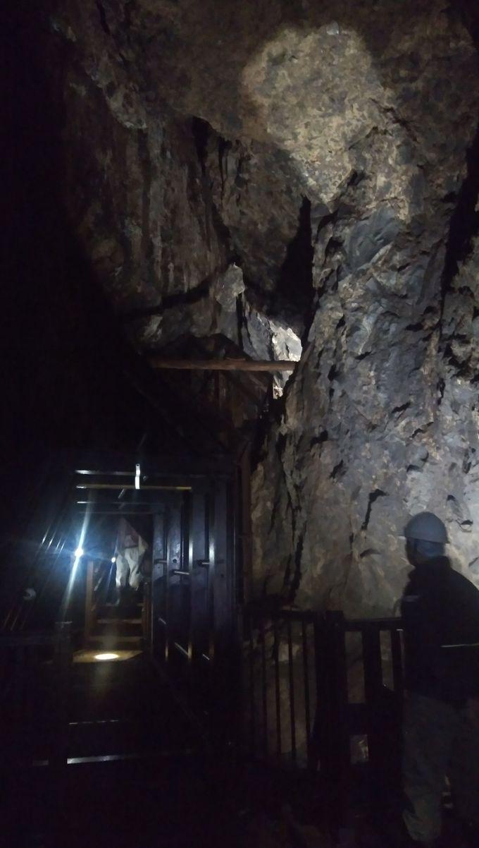 ハイライトは巨大空間「福石場」