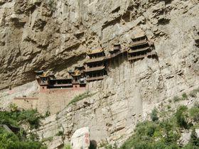 中国の断崖絶壁に懸かる「懸空寺」はまさに壮観!天下巨観!