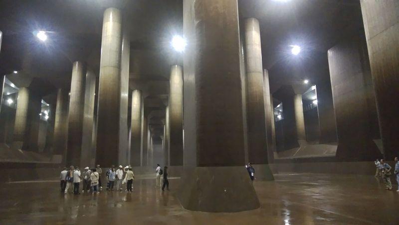 あの埼玉の地下神殿「首都圏外郭放水路」が毎日開放されてるぞ~