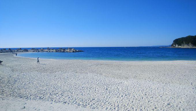 2.白良浜