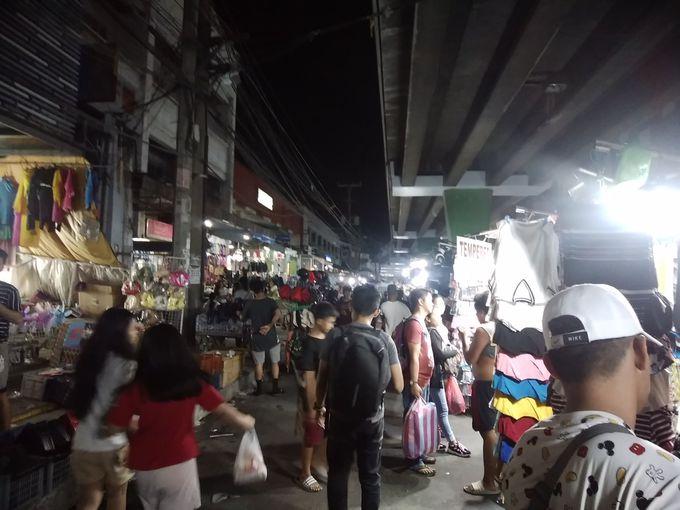 夕方〜夜:他の地区を趣向に合わせて散策