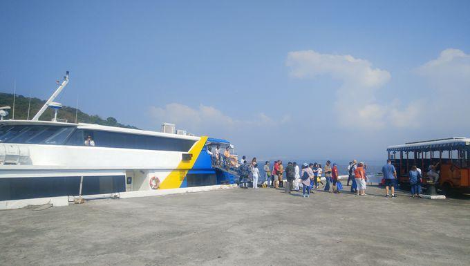 まずはマニラからコレヒドール島へ移動