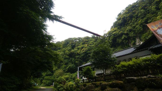 神川大滝公園は滝を上から眺めよう