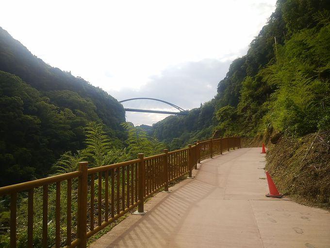 雄川の滝も散策自由の無料スポット