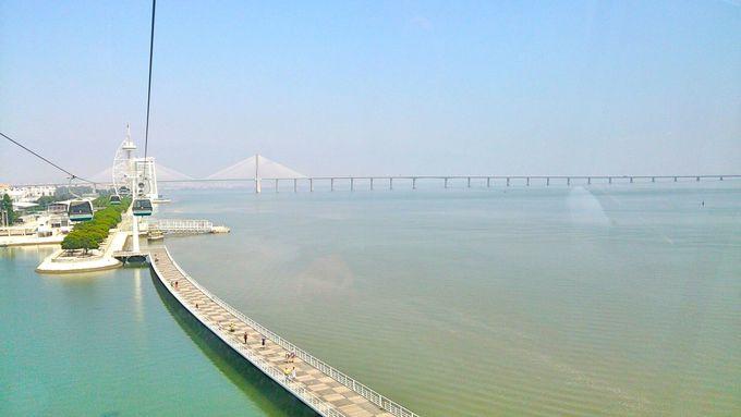 ヨーロッパ最大規模の水族館と橋