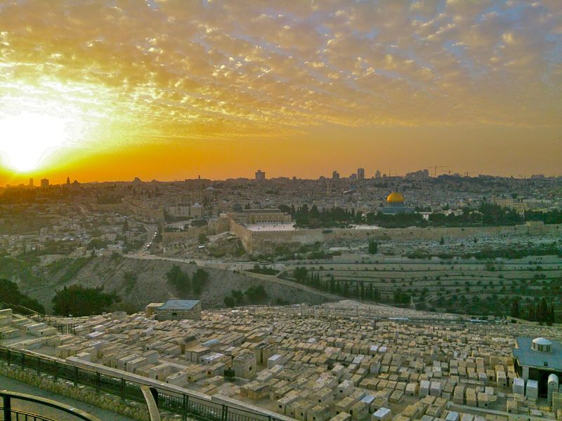 イスラエルの聖地「エルサレム」...