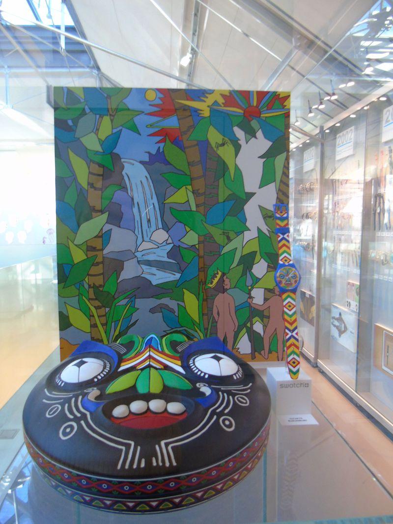 時計の国・スイス!一世を風靡したあの「スウォッチ博物館」