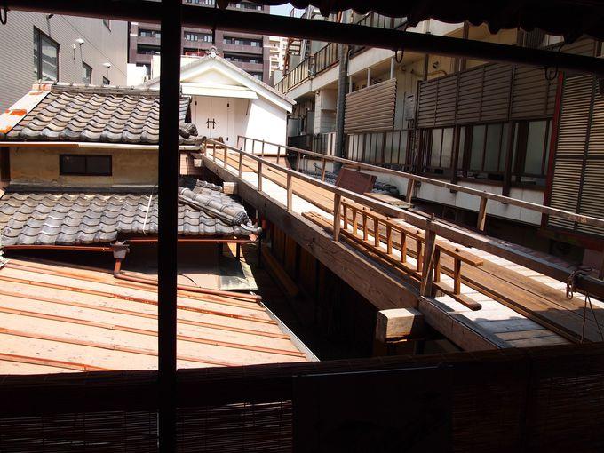 必見!放下鉾の町会所の2階の奥にある長い橋の正体は!?