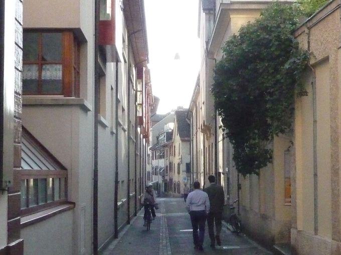 ぼーっと歩ける旧市街