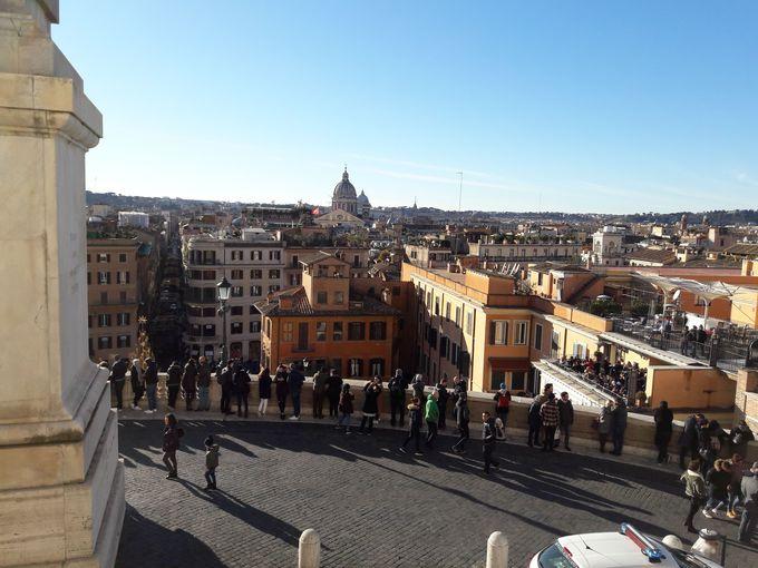 スペイン広場、そしてランチ!