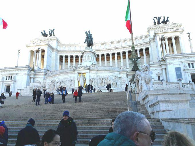 真実の口からヴェネチア広場へ