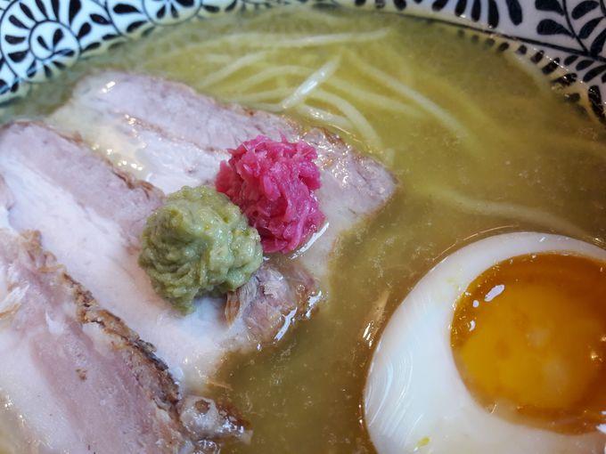 「アルデンテ」のしっかり太麺!