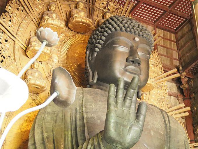 巨大な大仏がお出迎え「東大寺」