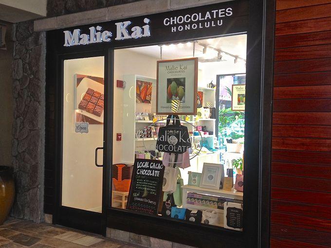 こだわりのハワイ産オーガニックチョコレート