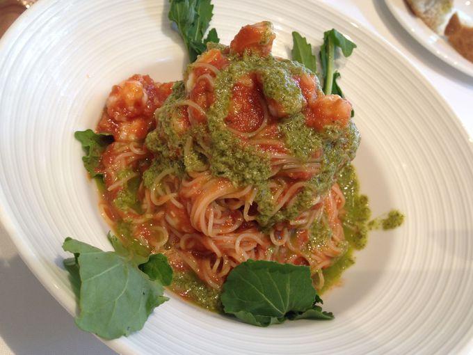 「タオルミーナ」で、美味しいシチリアパスタを満喫