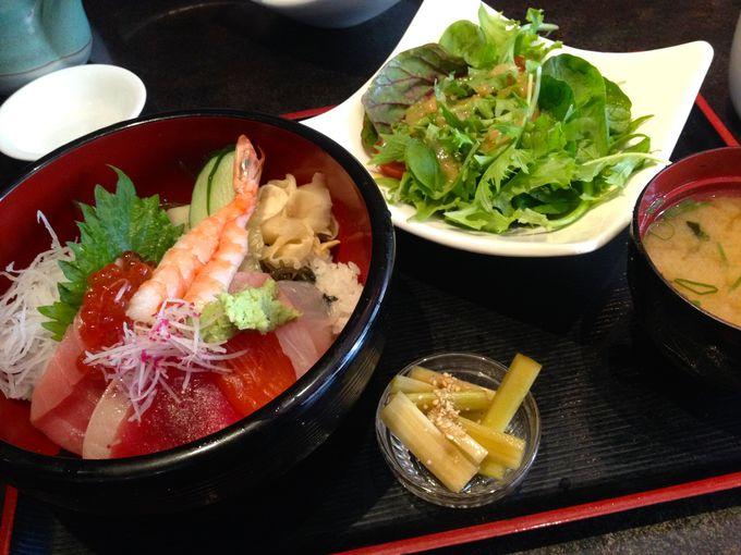 人気の日本食レストラン「カイワ」のこだわり和食ランチ