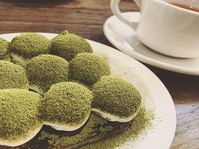 韓国・カロスキルの隠れ家的カフェ「MILESTONE COFFEE」のティラミスが絶品