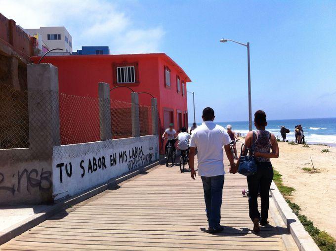 タクシーに乗ってビーチへ行こう!