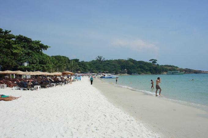 代表的なビーチはサイゲーオビーチ