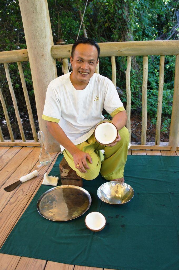 ココナッツオイル作りなど様々な体験もできる!