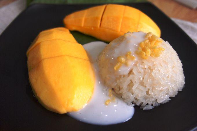 もち米とマンゴーのマリアージュ♪カオニャオ・マムアン