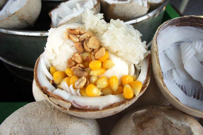 ココナッツ好きにはたまらない、ココナッツアイス