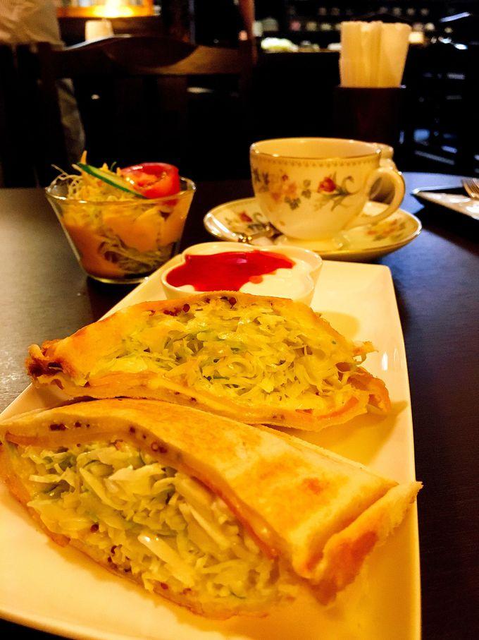 昭和の喫茶店「北欧」のグリルサンドウィッチ