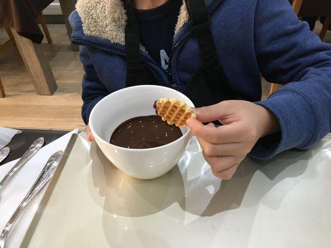 自分で作ればおいしさひとしお!チョコレートワークショップ
