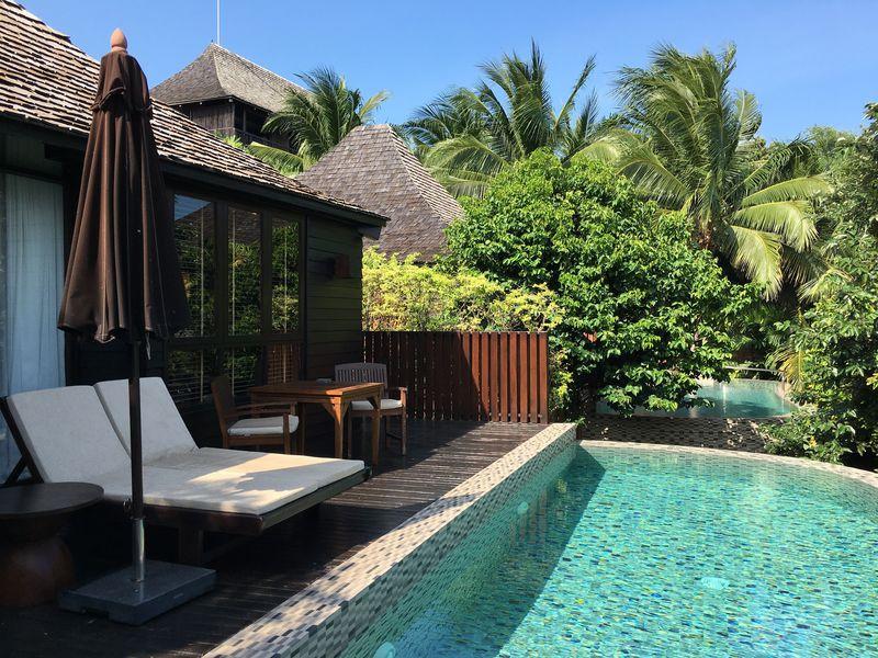 サムイ島のリュクスなジャングルリゾート「シラヴァディー・プール・スパ・リゾート」