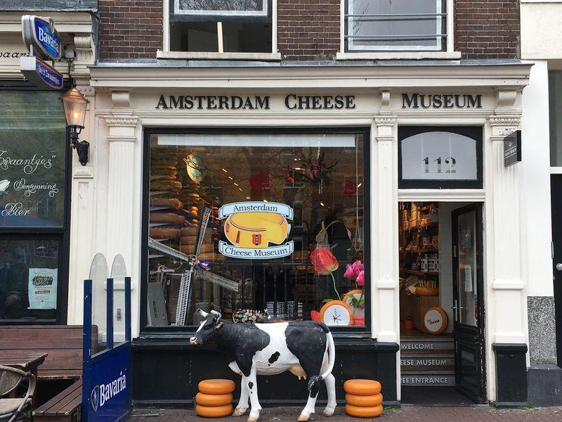 チーズ好き必訪!「アムステルダム・チーズミュージアム」