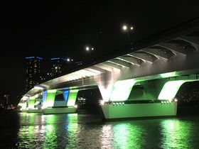 夜景スポット目白押し!東京「豊洲ぐるり公園」で夜散歩