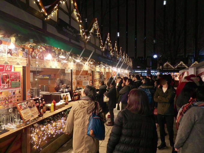 大通会場は11月22日〜12月25日まで!必見の1丁目と2丁目の見どころは?