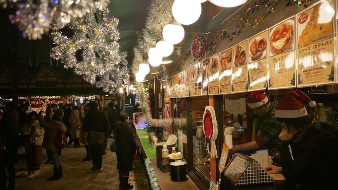 大通会場は11月22日〜12月25日まで!1丁目と2丁目の見どころは?