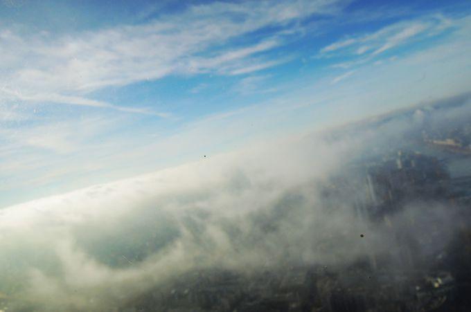 第3展望台は雲の上!パリ全体が見渡せる眺望