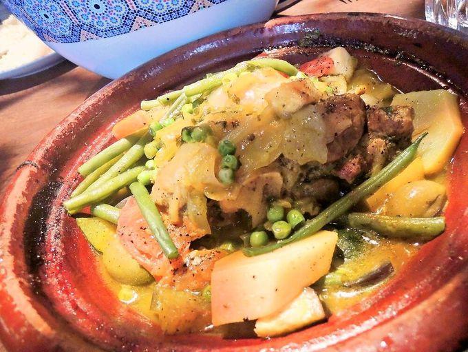 クスクスやタジン料理、モロッコ料理も見逃せない!