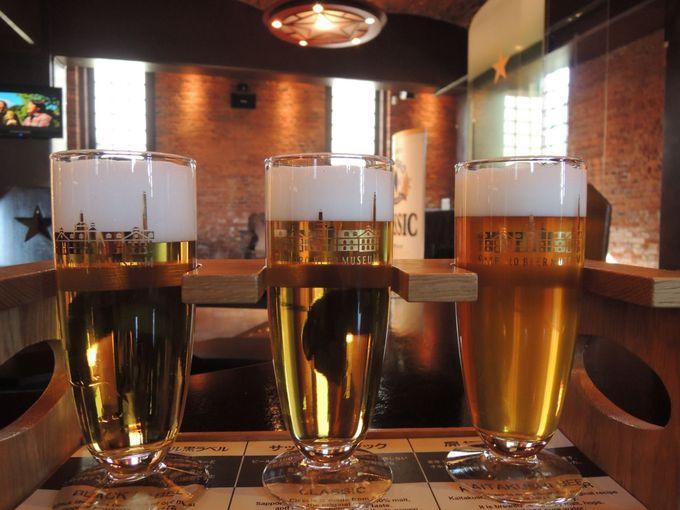 北海道を代表するビールを飲み比べ!