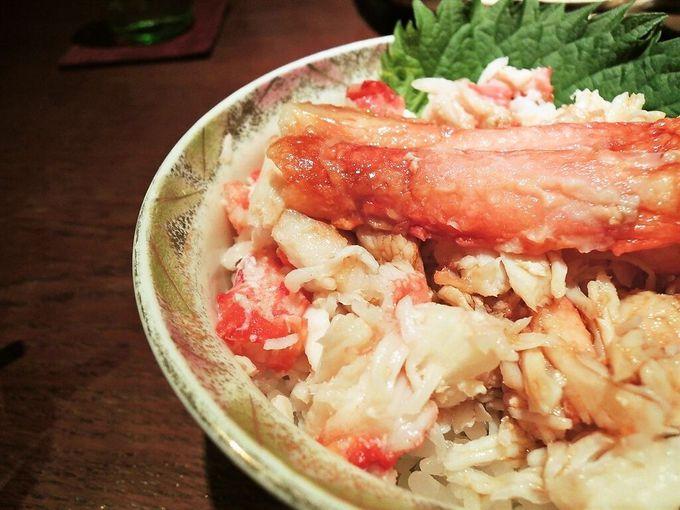 蟹丼・いくら丼・北海道の海鮮も見逃せない!