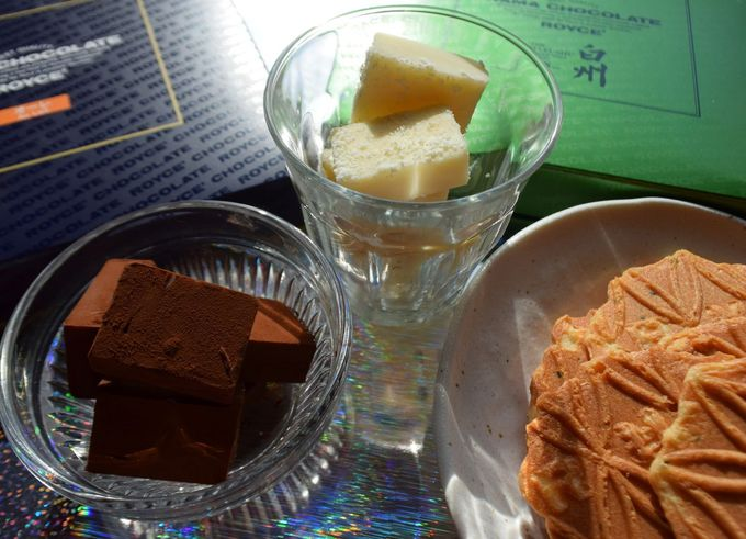 生チョコといえば「ロイズ」 滑らかな口どけ vs. カリッとしたクリスプ