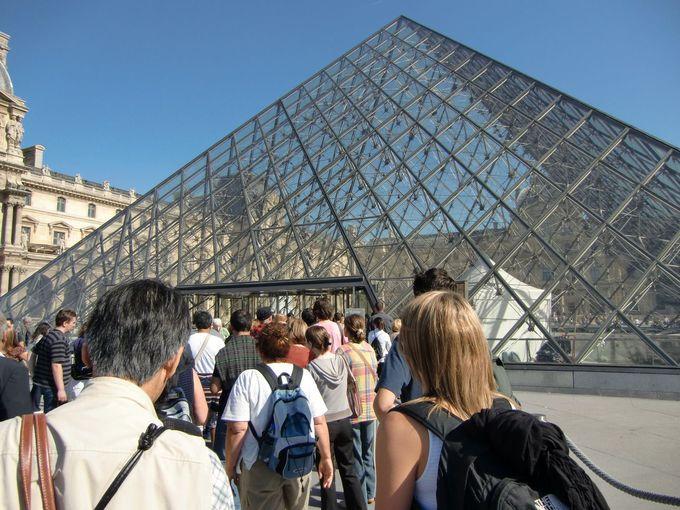 教科書で見た!超有名作品を見たいならルーブル美術館は外せない!