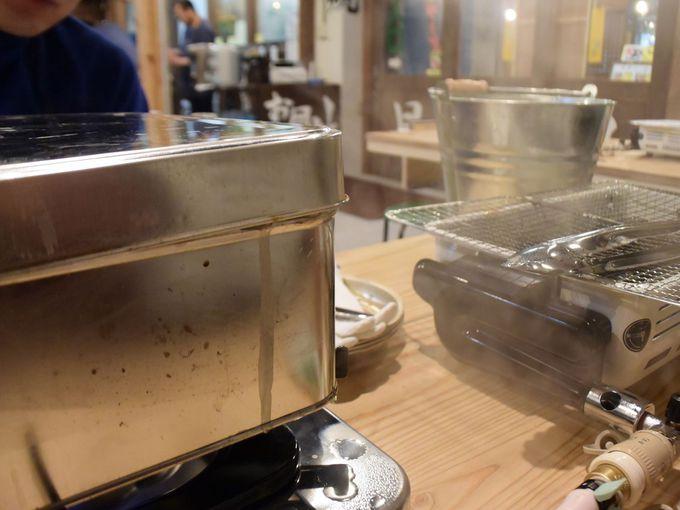 札幌場外市場に「カキ小屋」がやってきた!