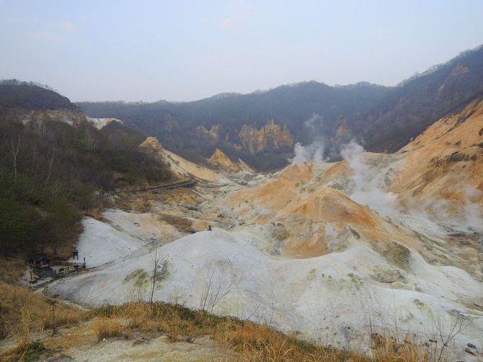 天下の名湯の源!登別温泉の地獄谷