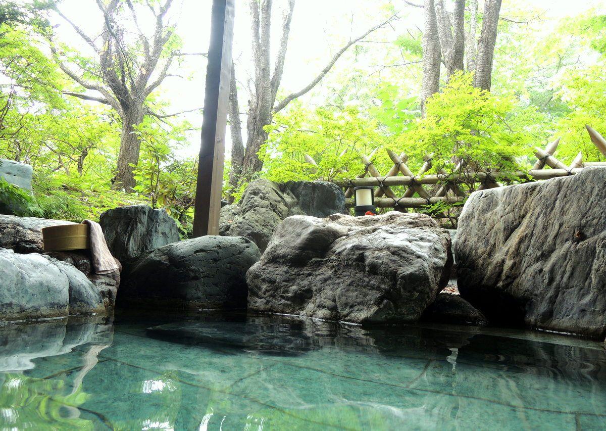 本館の大浴場・露天風呂・貸切風呂と温泉三昧も!