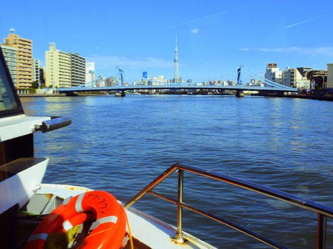 東京スカイツリーがどんどん迫ってくる!日の出桟橋、浜離宮から浅草を目指す